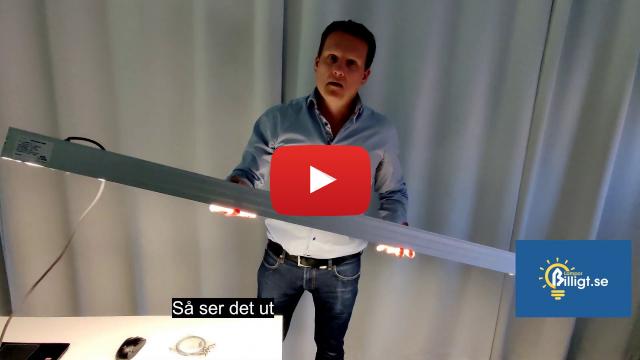 Test av kraftfull LED-Pendelarmatur